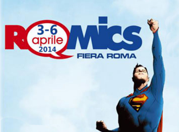 Romics Aprile 2014 con intervista di Zeb89 e News25.it